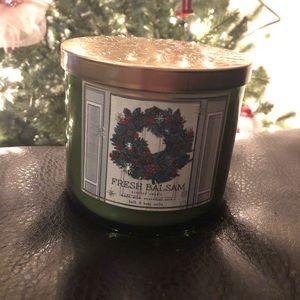 Fresh Balsam Bath and Body Works Candles